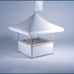 mastertent pavillon 4-Eck Pavillon_Rahmen