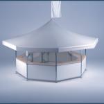 8-Eck Pavillon_Rahmen